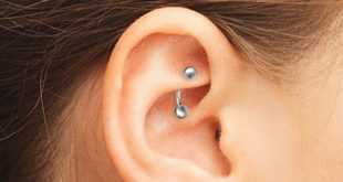 Piercing rook : procédure, bijoux, ornements et conseils